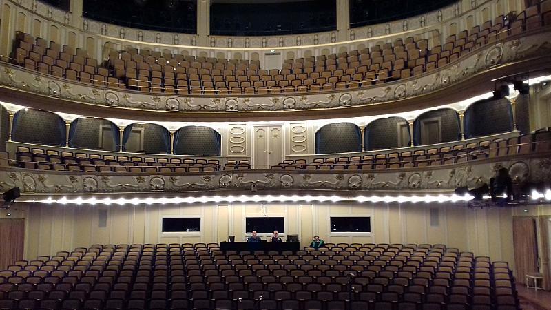 Saal des Staatsschauspiels Dresden