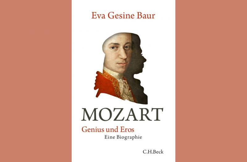 "Buchcover ""Mozart – Genius und Eros"""