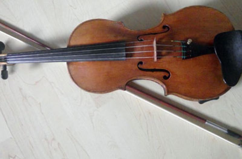 Die Geige von Lisa Barry